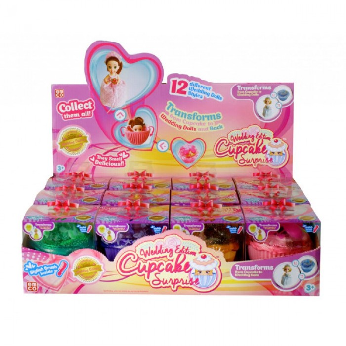 CUP CAKE SURPRISE ΝΥΦΕΣ SPECIAL EDITION ASST. CUP CAKE
