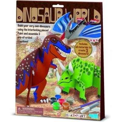 Κατασκευή ζωγραφική Δεινόσαυροι 00-03823