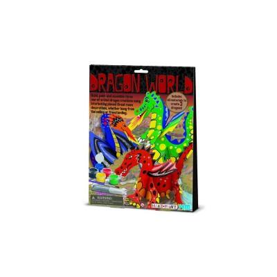 Κατασκευή ζωγραφική Δράκοι 00-03825