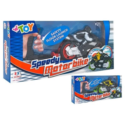 MOTORBIKE WITH LAUNCHER 2 COL.8014966394327