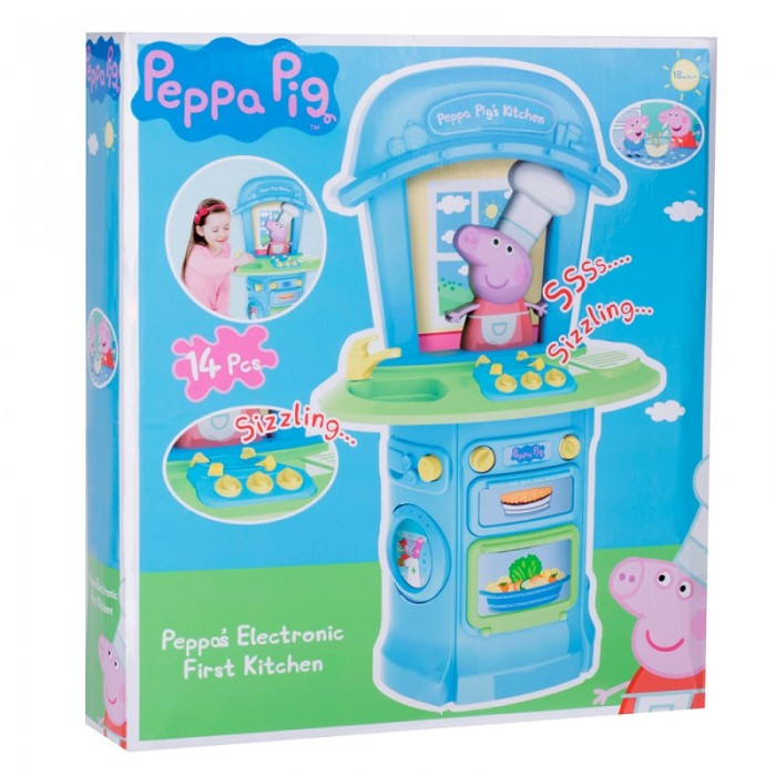 Παιχνιδια για κοριτσια - PEPPA PIG MY FIRST KITCHEN 1684246.INF19 PEPPA PIG