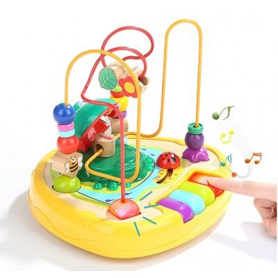 120328 Sound Frog bead Maze